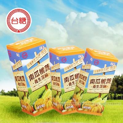 台糖 南瓜纖蔬養生薄餅x12盒(120g/盒)