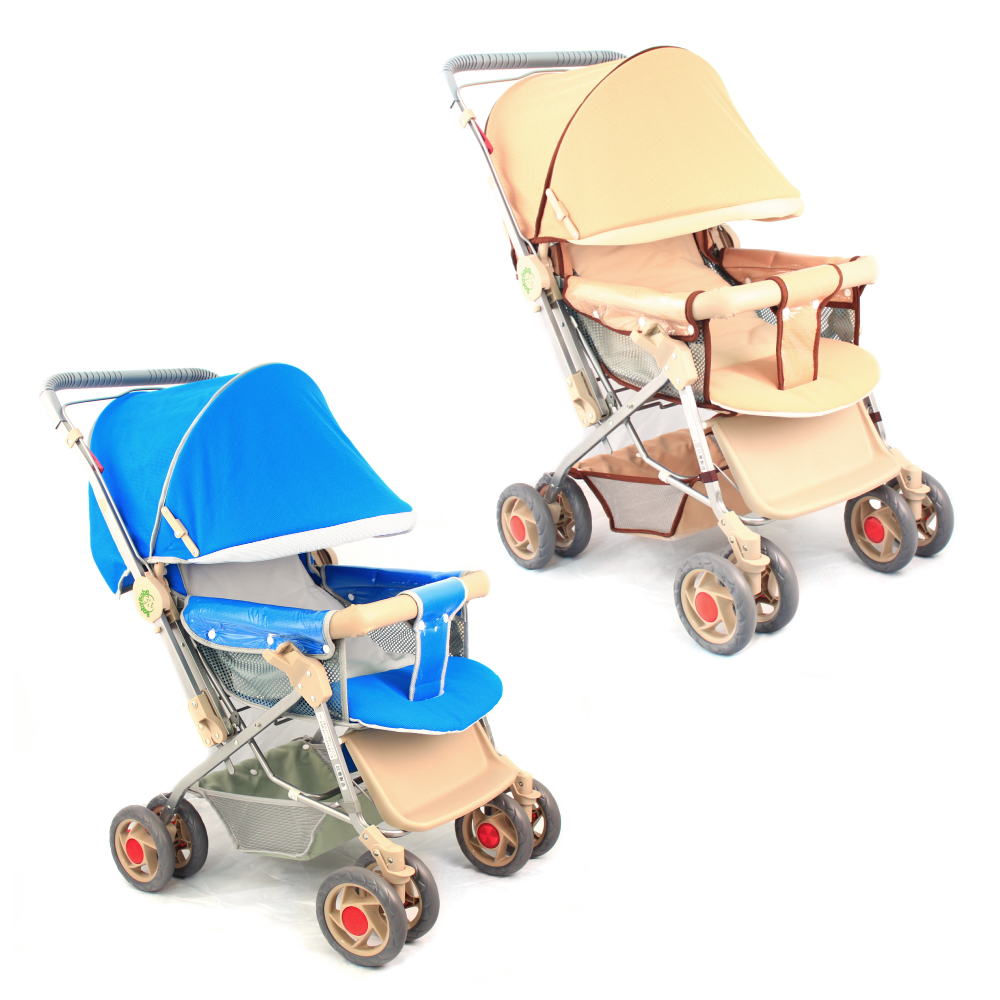 BabyBabe全罩式雙向加寬手推車