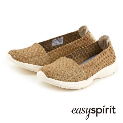 Easy-Spirit-實搭編織鞋面走路休閒鞋