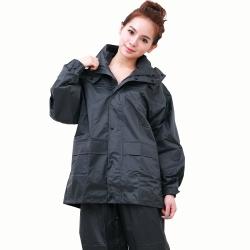 BrightDay風雨衣兩件式-超人氣日本款-灰