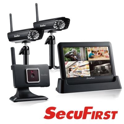 SecuFirst DWH-A059H 數位無線網路監視器(一機三鏡)