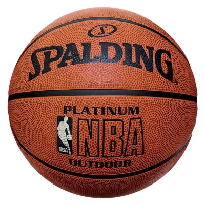SPALDING 白金NBA - Rubber 籃球 7號