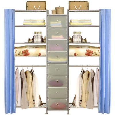 巴塞隆納─W5型60+D+W5型60衣櫥置物櫃