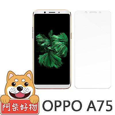阿柴好物 OPPO A75 9H鋼化玻璃保護貼