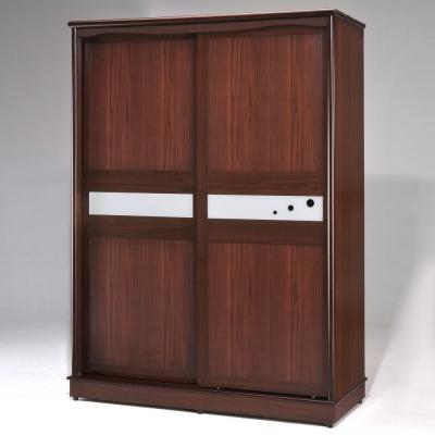 Homelike-黛絲5x7衣櫥-胡桃木紋
