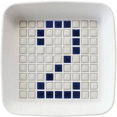 Sceltevie馬賽克拼貼置物盒白