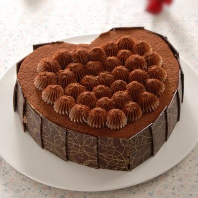 亞尼克-甜心提拉6吋蛋糕(免運組)
