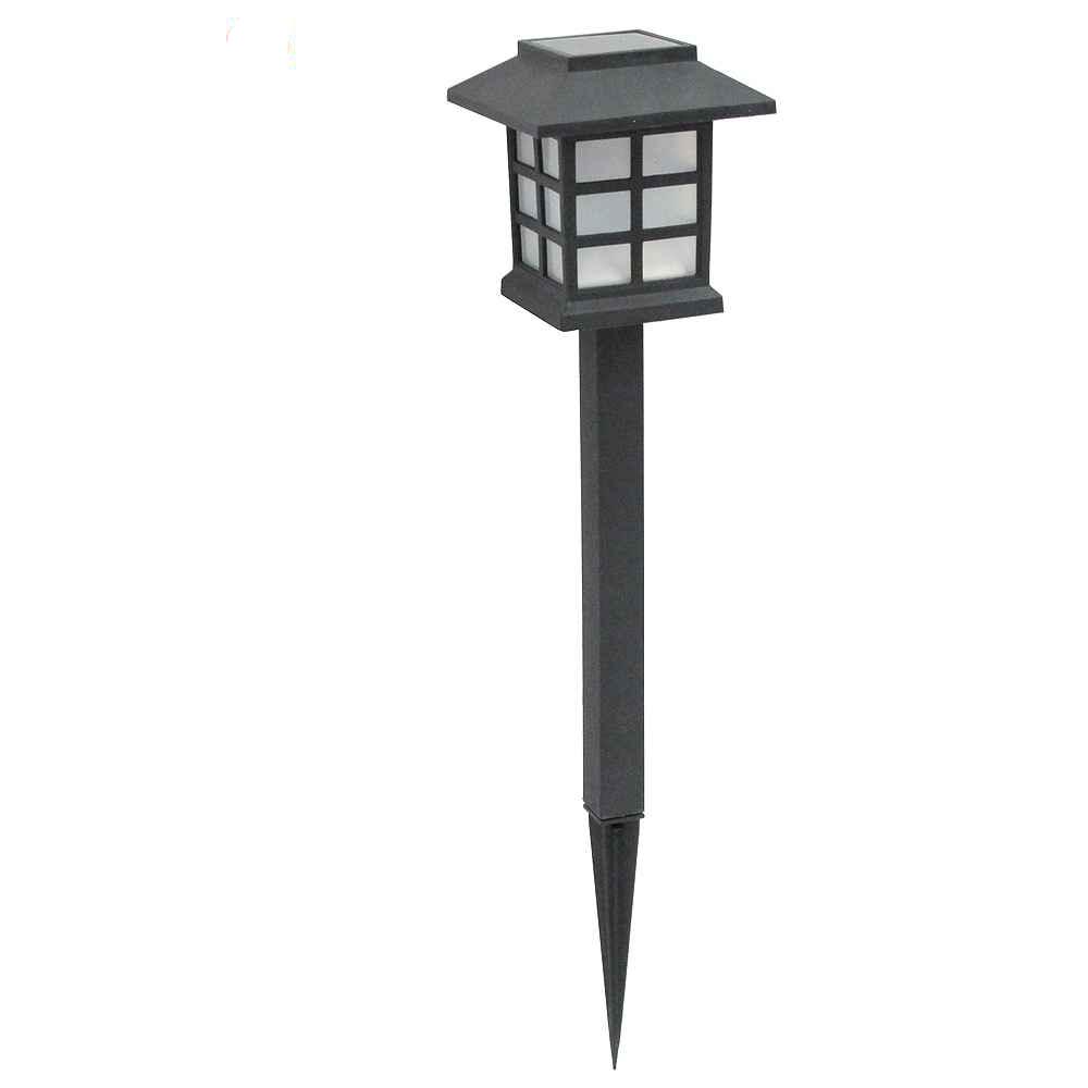 月陽古典太陽能充電式自動光控LED庭園燈草坪燈插地燈超值2入(50252)