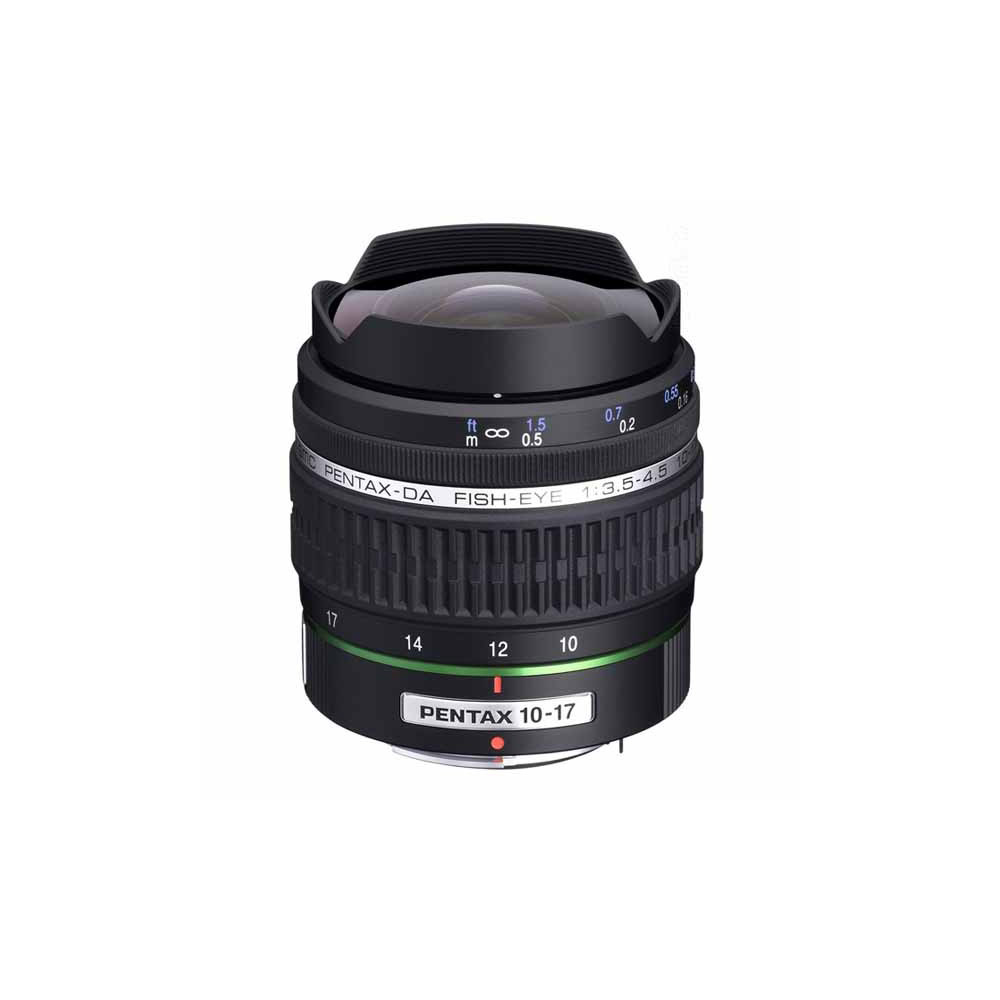 PENTAX SMC DA Fisheye 10-17mm F3.5-4.5 ED IF(公)