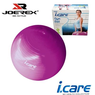 【JOEREX】艾可兒健身球/韻律球/瑜珈球(附打氣筒)-JIC019