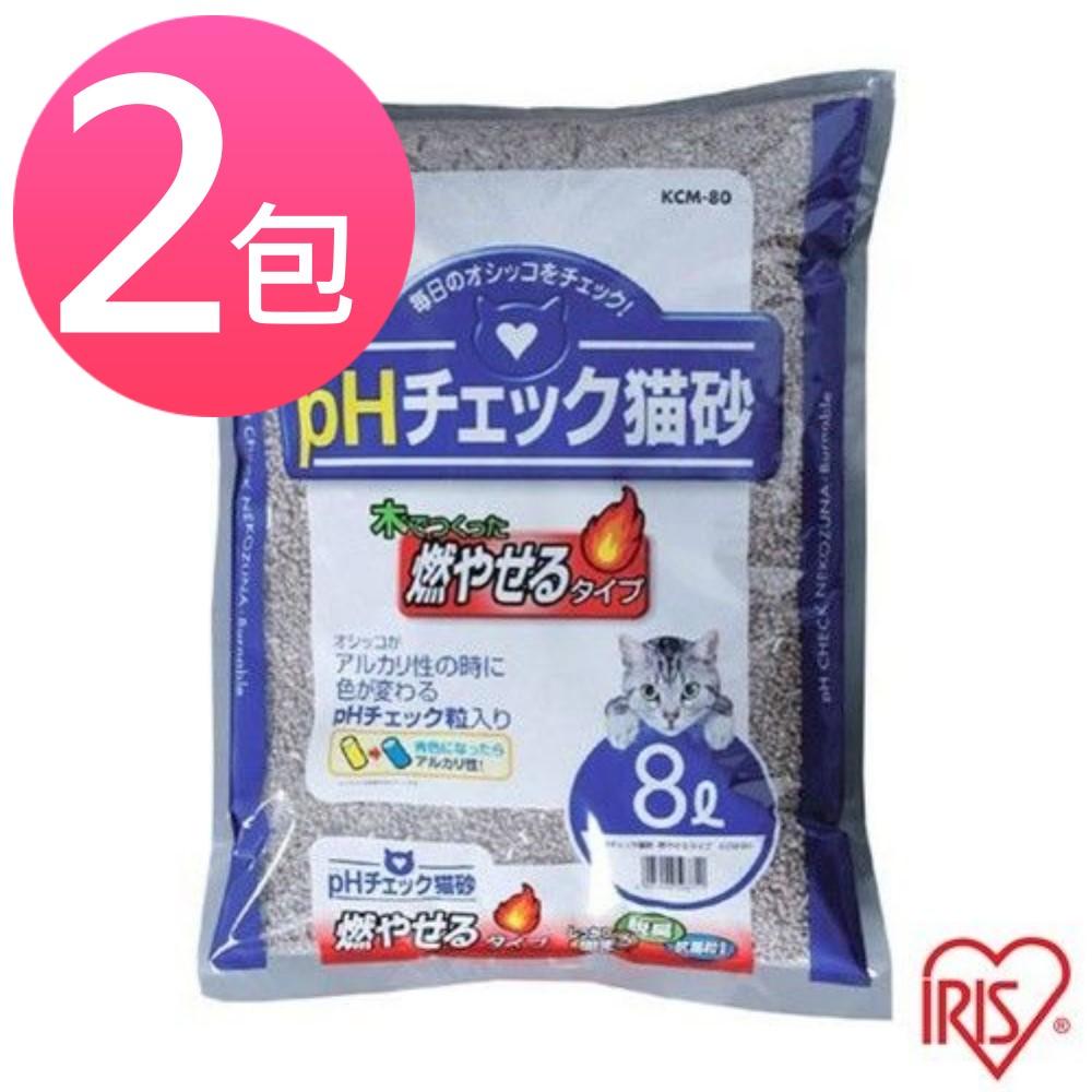 【IRIS】健康貓砂 8L/4.99kg-尿道結石專用 (KCM-80) 兩包組