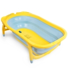 Karibu 凱俐寶 時尚折疊式嬰幼浴盆-黃藍色
