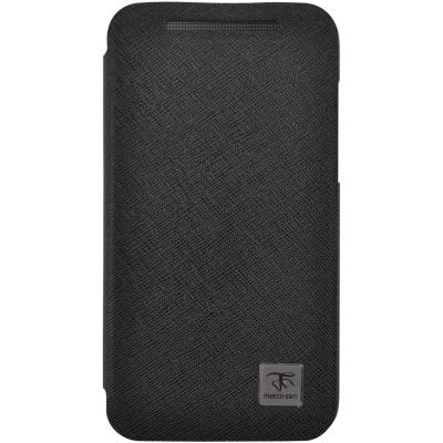 Metal-Slim HTC Desire 501 超薄型 立架式側掀皮套