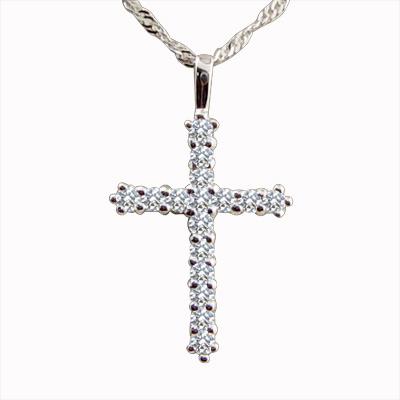 MANSTYLE「盼望」十字架鑽墜