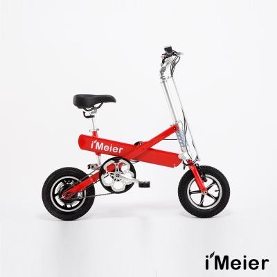 iMeier IM-12 電動輔助自行車 - 紅