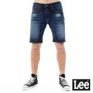Lee 101+ 牛仔短褲-男款-深藍色