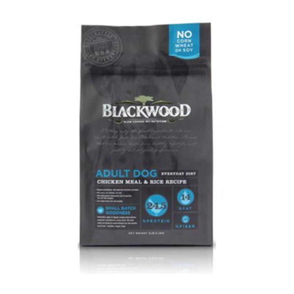 BlackWood 柏萊富 特調成犬活力配方(雞肉+米) 15磅 6.8公斤 X 1包