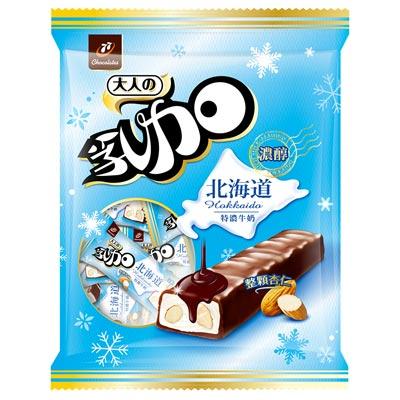 77 乳加巧克力-北海道牛奶杏仁(147g)