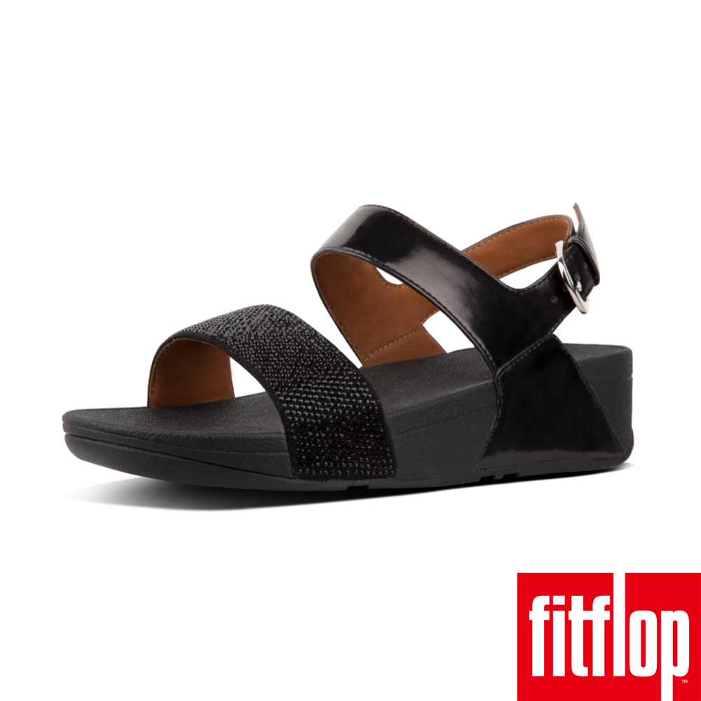 FitFlop RITZY BACK-STRAP SANDAL黑