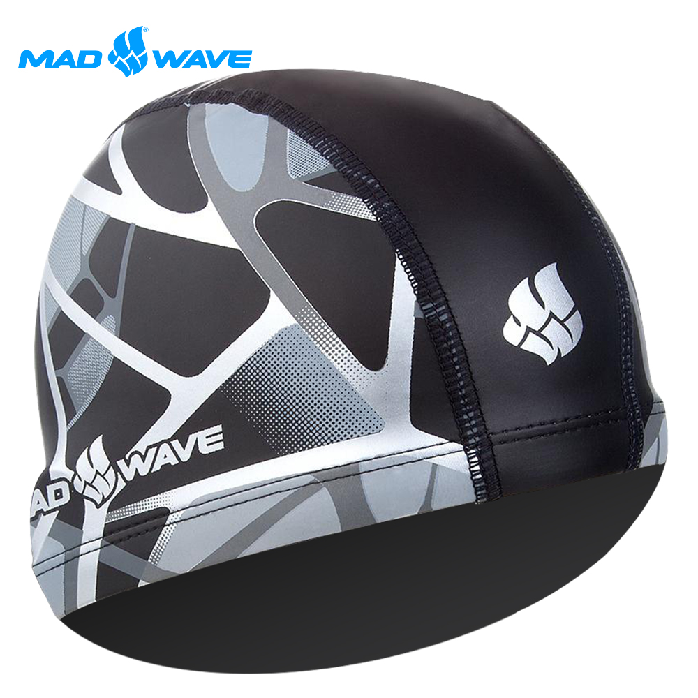 俄羅斯 邁俄威 成人PU泳帽 MADWAVE REFLECTION product image 1