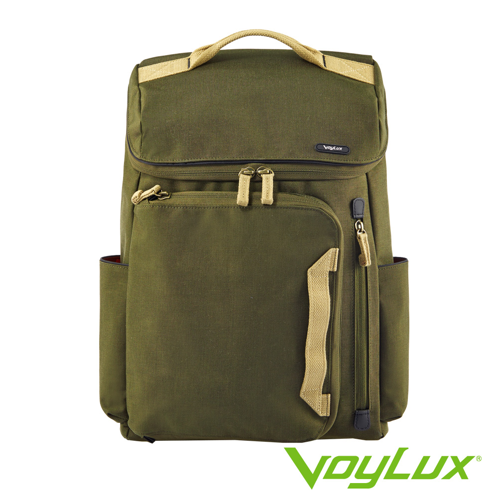 VoyLux伯勒仕-Valiant系列後背包-3380113-軍綠色