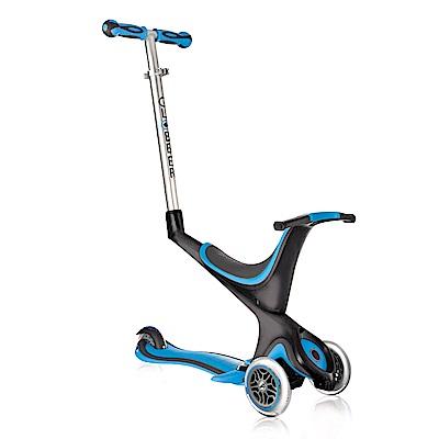 法國GLOBBER哥輪步-兒童5合1三輪滑板車-天空藍