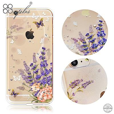 apbs iPhone6s/6 Plus 5.5吋 施華洛世奇彩鑽手機殼-普羅旺斯