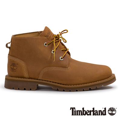 Timberland 男款小麥黃防水休閒中筒靴