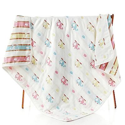【JOYNA】八層紗多功能全棉紗布巾空調睡毯