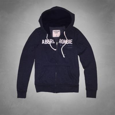 AF a&f Abercrombie & Fitch 女 外套 藍 0186
