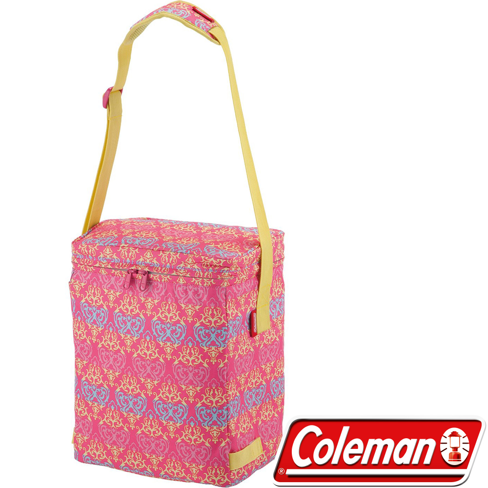 Coleman 22221 19L紅葉圖騰保冷袋 行動冰箱/釣箱/冷藏 保冰袋/冰桶