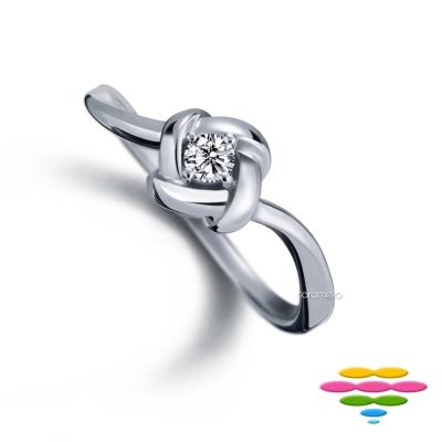 彩糖鑽工坊 9分鑽石戒指 結系列