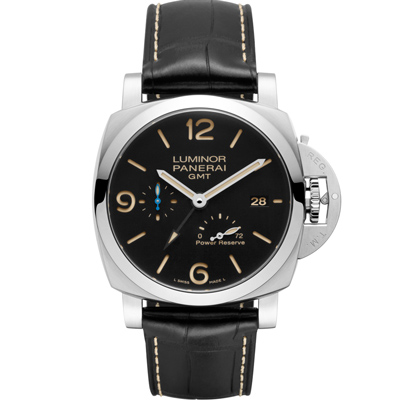 PANERAI 沛納海 PAM01321 LUMINOR GMT 自動上鍊腕錶-44mm