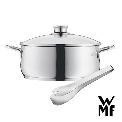 德國WMF-DIADEM-PLUS-低身湯鍋-20cm-NUOVA餐夾