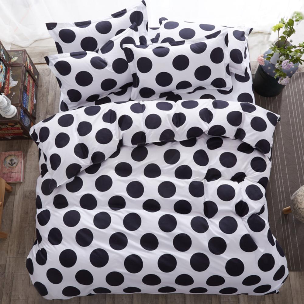 Alieen 個性印花 四件式被套床包組 加大 布魯諾