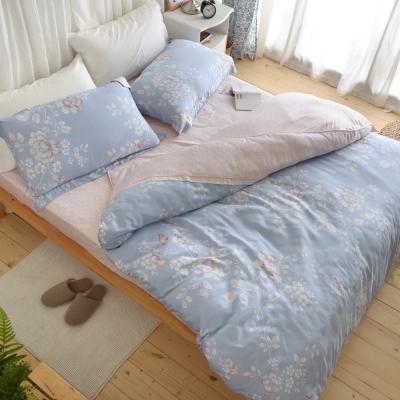 絲薇諾-天絲-大和撫子-床包兩用被四件組-雙人款