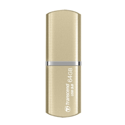 創見 64G JetFlash820 USB3.0極速精品碟(香檳金)