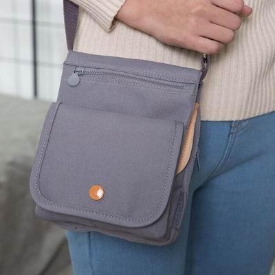 iSFun 隨身證件包 掀蓋護照相機斜垮肩包 2色可選
