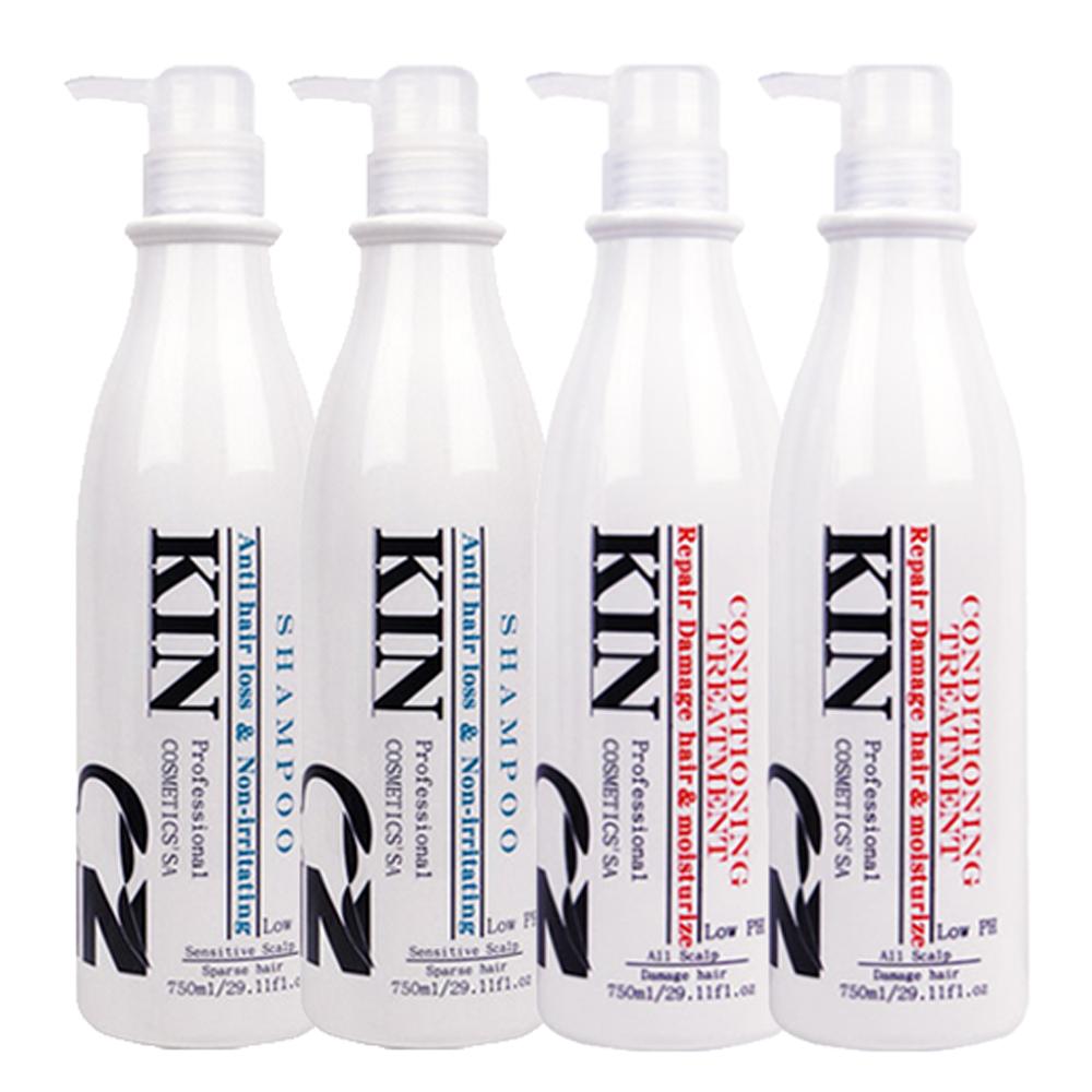 KIN還原酸蛋白深層健髮洗護組750mlx4