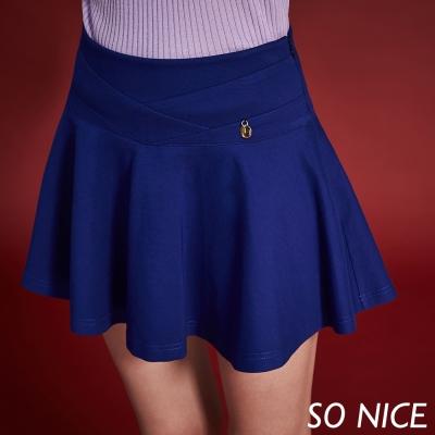 SO-NICE俏麗甜美傘狀褲裙-動態show