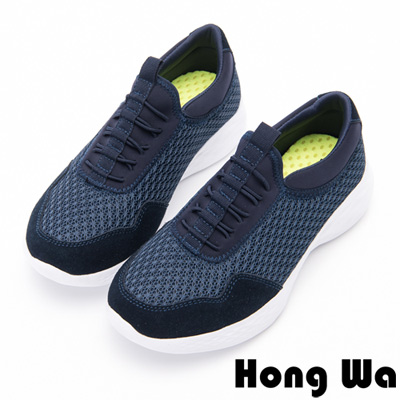 Hong Wa - 瑜珈柔軟休閒運動風格便鞋-藍