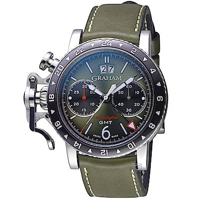 GRAHAM Chronofighter GMT復古錶(2CVBC.G01A.L141S)