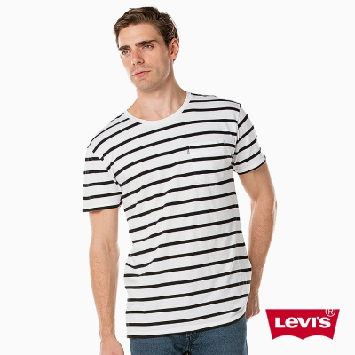 Levis T恤 男裝 Line 8 歐系簡約 單口袋