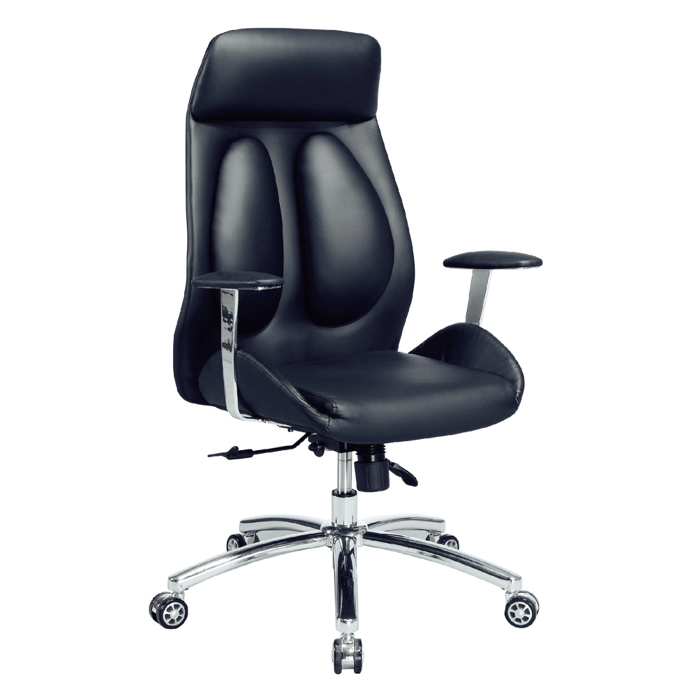 GD綠設家 易艾皮革多功能主管椅/辦公椅-66x54x109cm免組