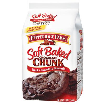 培珀莉 巧克力布朗尼軟餅乾(244g)