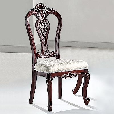 AS-奧德莉胡桃色餐椅-56x60x112.5cm
