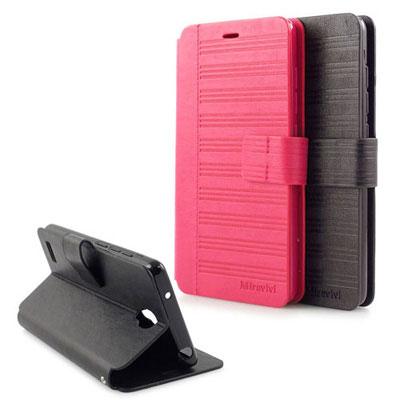 Miravivi Xiaomi 紅米Note 可立式簡約壓紋側掀式皮套