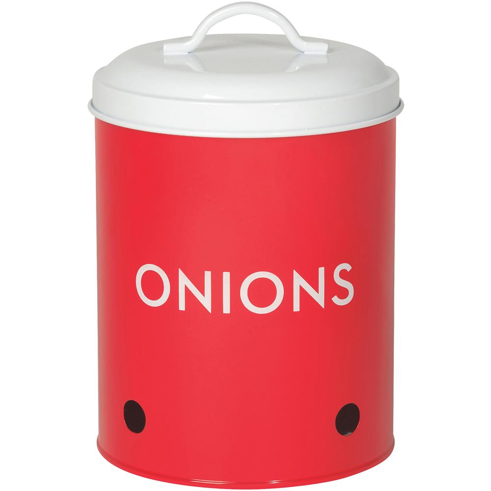 NOW 洋蔥透氣收納罐(紅)