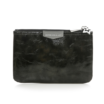 GG&L-GINAs Pouch化妝包-黑金屬