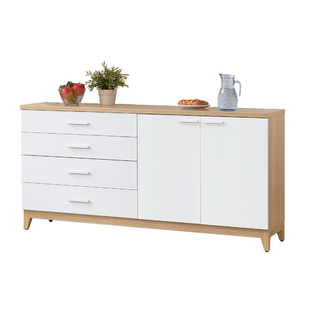Bernice-芭娜5.3尺收納餐櫃-160x40x81cm